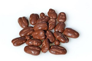 4 ounces of Chocolate Covered Pecans