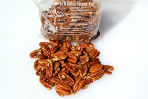 16 oz roasted butter and salted pecan pieces